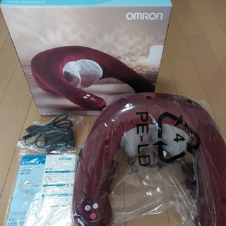OMRON - オムロン ネックマッサージャー HM-142-WR