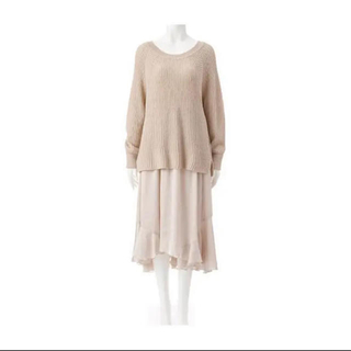 ココディール(COCO DEAL)のココディール フレアアシメスカート(ロングスカート)