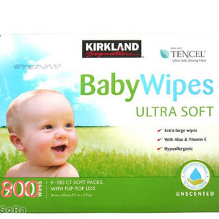 コストコ - コストコ カークランド  BabyWipes おしりふき 800枚
