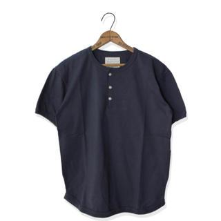 フルカウント(FULLCOUNT)のFULLCOUNT フルカウント ヘンリーネック フラットシーム Tシャツ(Tシャツ/カットソー(半袖/袖なし))