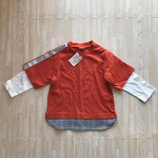 プティマイン(petit main)のプティマイン 新品未使用 ロンT(Tシャツ/カットソー)