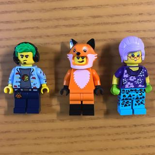 Lego - 【!小物なし!】LEGO ミニフィグ 3体セット