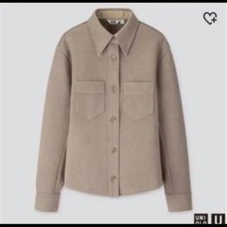 ユニクロ(UNIQLO)のジャージーダブルポケットシャツ ユニクロ(その他)
