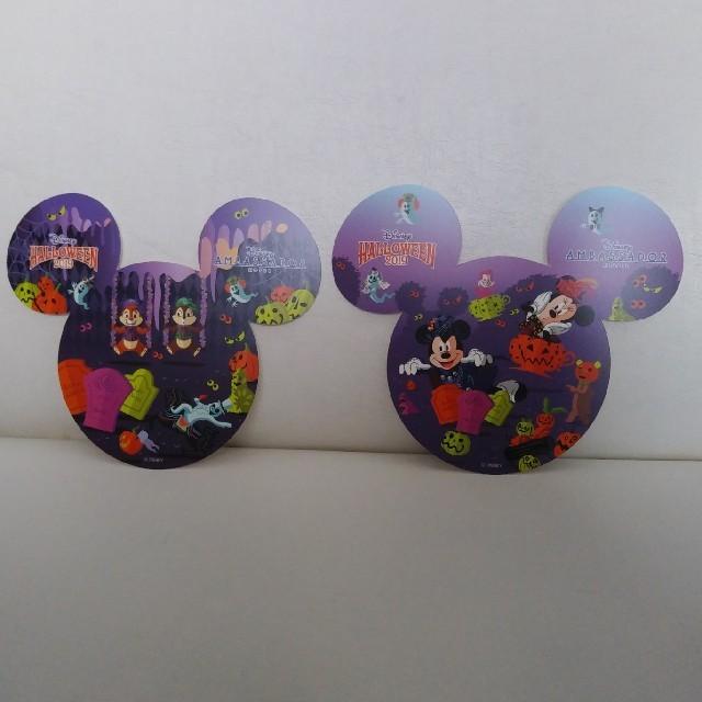 Disney(ディズニー)のコースター アンバサダーホテル ハロウィン 2019 エンタメ/ホビーのおもちゃ/ぬいぐるみ(キャラクターグッズ)の商品写真