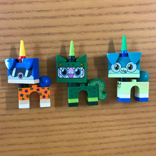 Lego - LEGO ユニキャット 3体セット