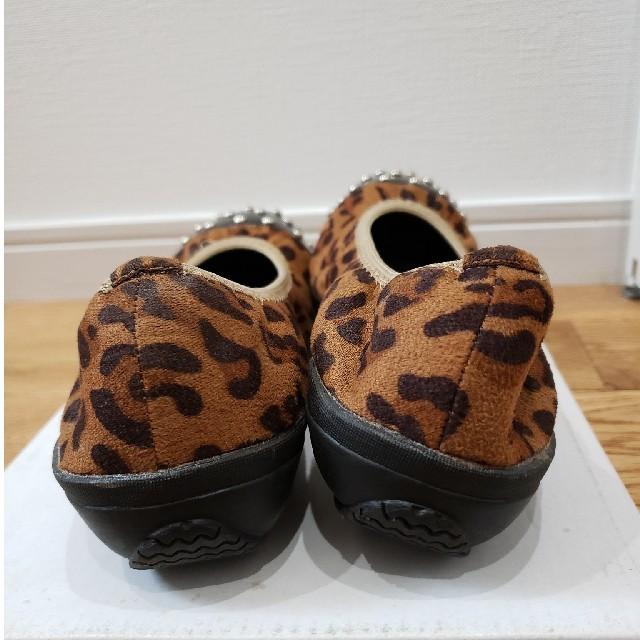 one*way(ワンウェイ)のone way レオパードパンプス レディースの靴/シューズ(ハイヒール/パンプス)の商品写真
