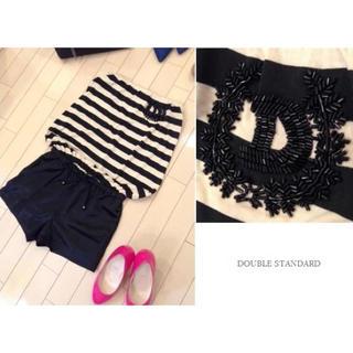 ダブルスタンダードクロージング(DOUBLE STANDARD CLOTHING)の新品 DOUBLE STANDARD オールインワン パンツ ダブルスタンダード(オールインワン)