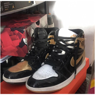 ナイキ(NIKE)のair jordon 1 high NRG 2017 gold top 3(スニーカー)