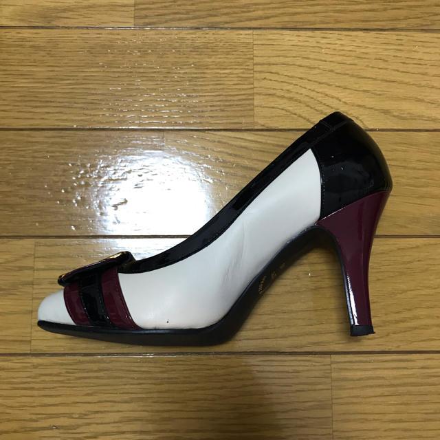 POOL SIDE(プールサイド)のPOOLSIDE バイカラー パンプス レディースの靴/シューズ(ハイヒール/パンプス)の商品写真