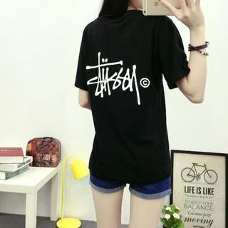 STUSSY - 人気ステューシーTシャツ ブラック