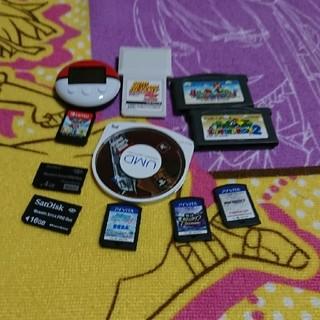 ソフト 等 色々セット(携帯用ゲームソフト)