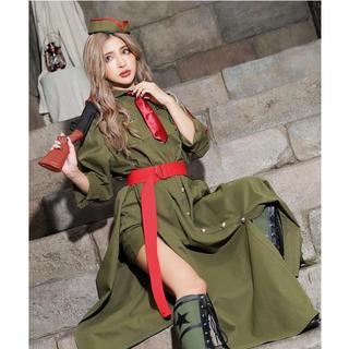 ジュエルズ(JEWELS)のミリタリーコスプレセット ハロウィン5点セット Sサイズ 仮装 軍服 パンツ(衣装一式)