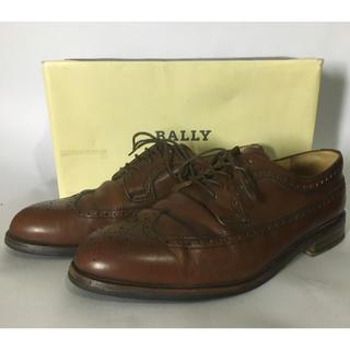 バリー(Bally)の上質 フランス製▼BALLY バリー ウイングチップ ビジネスシューズ(ドレス/ビジネス)