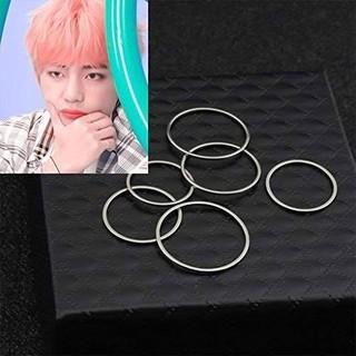 5個 リング 指輪 フリーサイズ ノーブランド(リング(指輪))