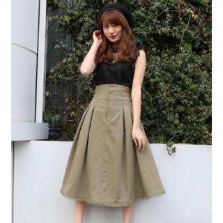 ダズリン(dazzlin)のスカート dazzlin(ひざ丈スカート)