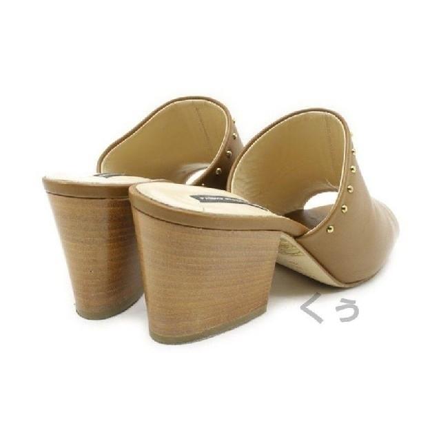 FABIO RUSCONI(ファビオルスコーニ)のFABIO RUSCONI チャンキーヒールサンダル  かねまつ ダイアナ レディースの靴/シューズ(サンダル)の商品写真
