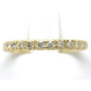 お値引き不可 K18 合計0.50ct エタニティ 天然 ダイヤ リング(リング(指輪))