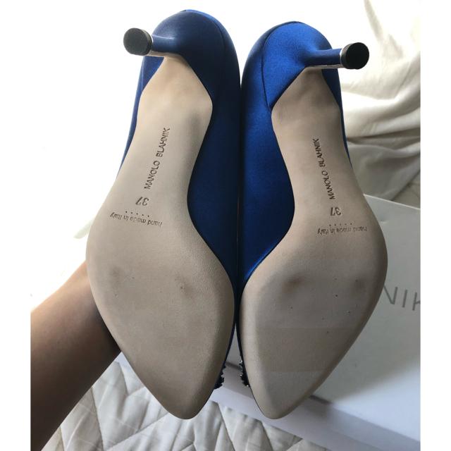 MANOLO BLAHNIK(マノロブラニク)の【新品未使用】マノロブラニク ハンギシ レディースの靴/シューズ(ハイヒール/パンプス)の商品写真