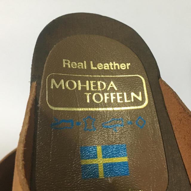 スウェーデン製▼モヘダトフェール サボサンダル サイズ37 レディースの靴/シューズ(サンダル)の商品写真