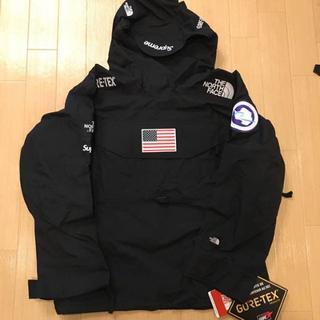 Supreme - 17ss Supreme×The North Face pullover