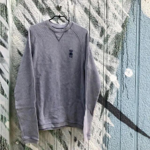 STUSSY(ステューシー)のstussy 長袖カットソー 古着 メンズのトップス(Tシャツ/カットソー(七分/長袖))の商品写真