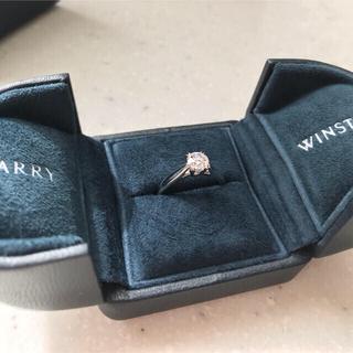 ハリーウィンストン(HARRY WINSTON)のハリーウィンストン 指輪 9号 solitaire ring 0.51カラット(リング(指輪))