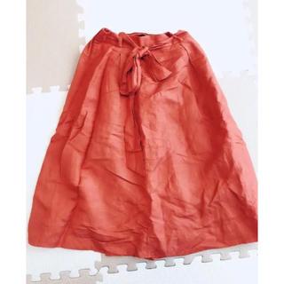 オペークドットクリップ(OPAQUE.CLIP)の美品  OPAQUE.CLIP ロングスカート チュールスカート(ひざ丈スカート)