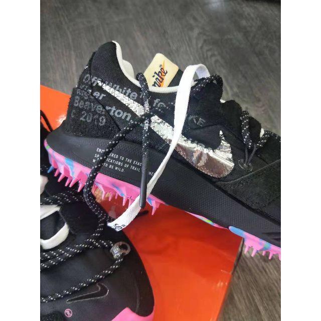 OFF-WHITE(オフホワイト)のNIKE × オフホワイトZOOM TERRA KIGER 5黒 26.5 メンズの靴/シューズ(スニーカー)の商品写真