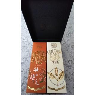 TWG GOLDEN EARL GREY & ALWAYS SAKURA TEA