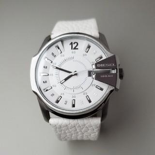 DIESEL - DIESEL ディーゼル 腕時計 DZ-1405 稼働品 メンズ 白