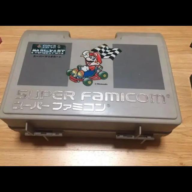 スーパーファミコン(スーパーファミコン)のスーパーファミコン カセット ケース  エンタメ/ホビーのゲームソフト/ゲーム機本体(家庭用ゲームソフト)の商品写真
