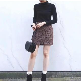 SLY - SLY レオパードミニスカート