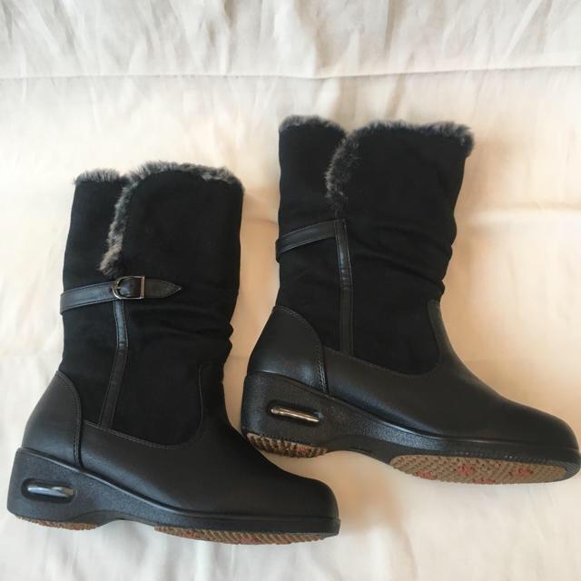 黒 ブーツ グレーファー レディース 23cm  レディースの靴/シューズ(ブーツ)の商品写真