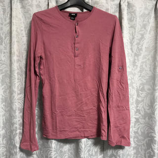 エイチアンドエム(H&M)のメンズ!H&M*長袖カットソー*Tシャツ*XSサイズ(Tシャツ/カットソー(七分/長袖))