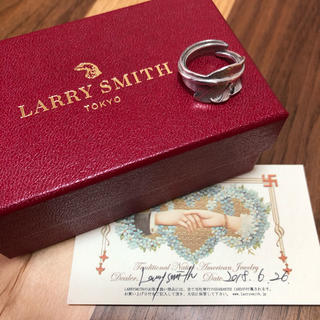 ゴローズ(goro's)のラリースミス  LARRY SMITH カゼキリリング  ピンキーリング(リング(指輪))