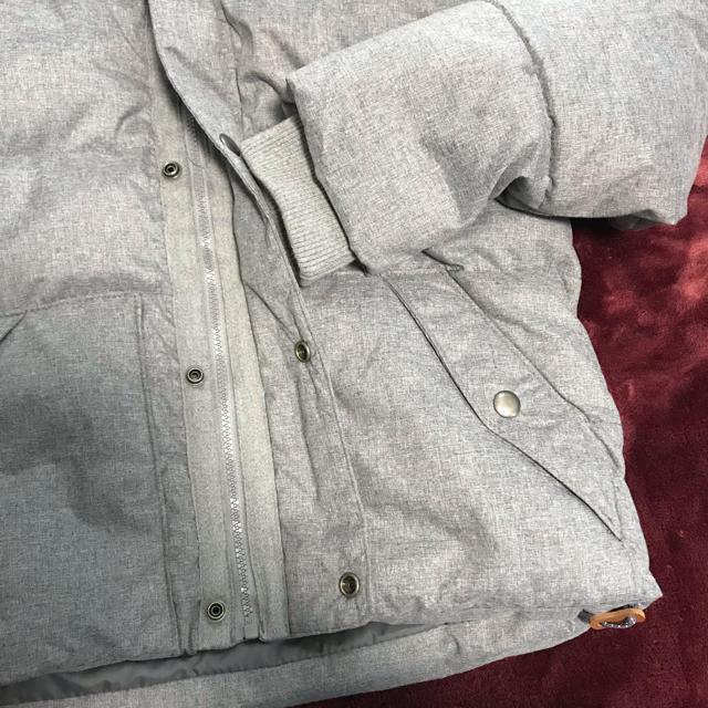 Old Navy(オールドネイビー)のメンズ!美品!オールドネイビー*グレーダウンジャケット*Sサイズ相当 メンズのジャケット/アウター(ダウンジャケット)の商品写真