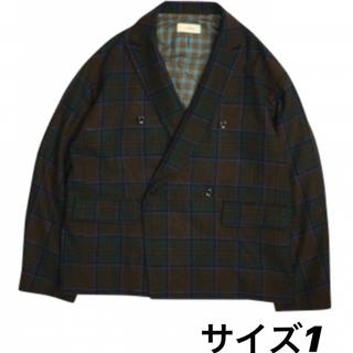 ジエダ(Jieda)のJieDa 19aw PLAID TAILORED JACKET サイズ1(テーラードジャケット)