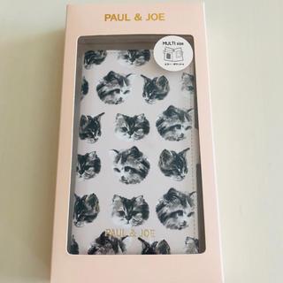 ポールアンドジョー(PAUL & JOE)のあやめぐ様専用 ♡ PAUL & JOE スマホケース 猫 ♡(モバイルケース/カバー)