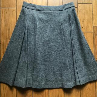 ランバンオンブルー(LANVIN en Bleu)のランバンオンブルー  グレースカート(ひざ丈スカート)