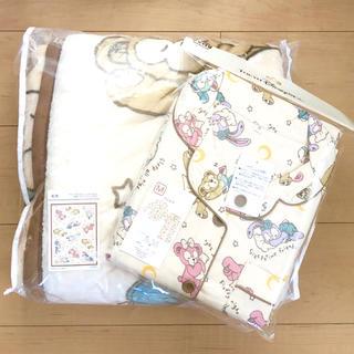 ダッフィー 毛布 パジャマ セット