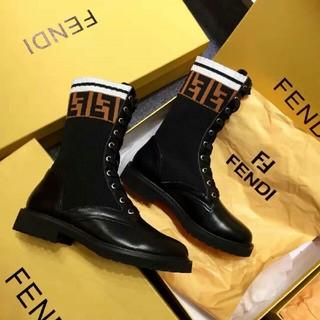 フェンディ(FENDI)のFENDI  ブーツ 22.5cm-25cm  (ブーツ)