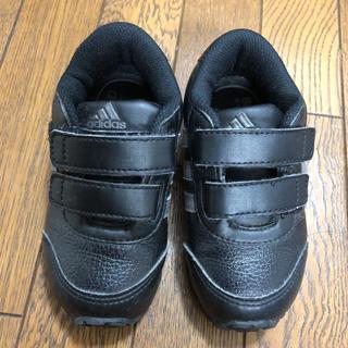 adidas - 美品★adidas★14cm  スニーカー  黒
