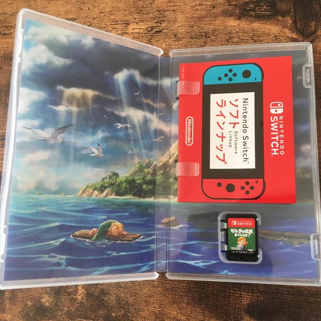 Nintendo Switch(ニンテンドースイッチ)のゼルダの伝説 夢をみる島 エンタメ/ホビーのゲームソフト/ゲーム機本体(家庭用ゲームソフト)の商品写真