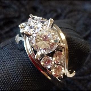 デザインリング キュービックジルコニア・シルバー 6号(リング(指輪))