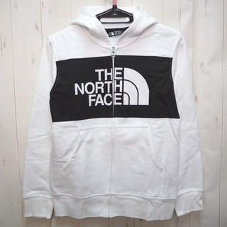 THE NORTH FACE - ノースフェイス ハーフドーム ジップ パーカー 150cm 白黒