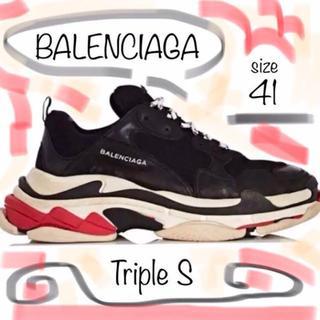 バレンシアガ(Balenciaga)の憧れのダッドの原点★BALENCIAGA triple S 41(スニーカー)