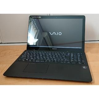 ソニー(SONY)の美品 新品SSD sony vaio corei5 ブルーレイ フルHD(ノートPC)