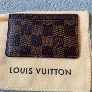 LOUIS VUITTON - ダミエ カードケース