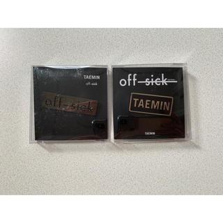 シャイニー(SHINee)のSHINee テミン offsick ピンバッジ(K-POP/アジア)