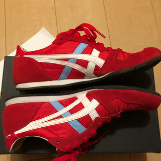 オニツカタイガー(Onitsuka Tiger)のOnitsuka Tiger SERRANO CLASSIC RED/WHITE(スニーカー)